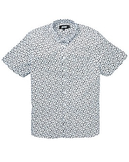 Jacamo Birds Feet S/S Printed Shirt Reg