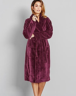 Pretty Secrets Luxury Hooded Gown - L48
