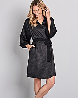 Pretty Secrets Black Animal Kimono