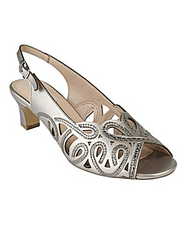 LOTUS MARIANNA OPEN BACK SHOES