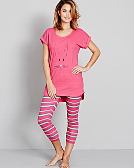 Pretty Secrets PK2 Legging Pyjama Set