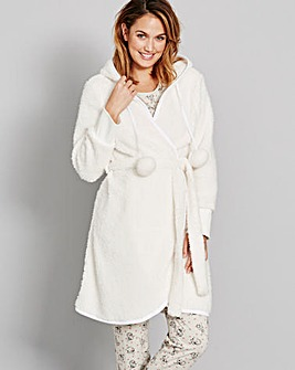 Pretty Secrets Fleece Snuggle Robe