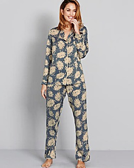 Pretty Secrets Matte Satin Pyjama Set
