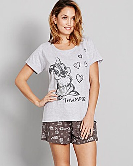 Bambi Shortie Pyjamas