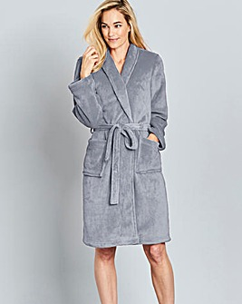 Pretty Secrets Fluffy Fleece Gown L38