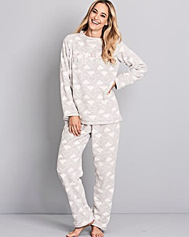 Pretty Secrets Fleece Pyjama Set