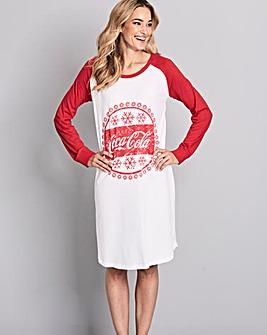 Coca Cola Jersey Nightie
