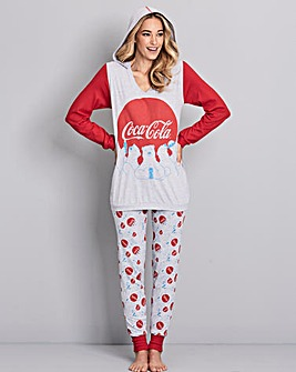 Coca Cola Slouch Hood & Legging Set