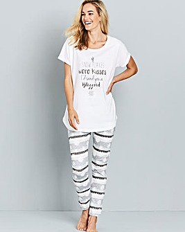 Pretty Secrets Snowflake Pyjama Set