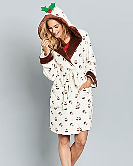 Pretty Secrets Fleece Pudding Gown
