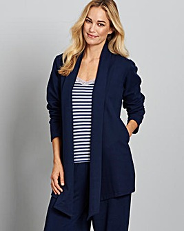 Pretty Secrets Fleece Waterfall Jacket