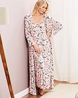 Pretty Secrets Viscose Wrap Gown 50