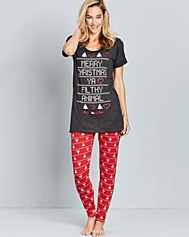Home Alone Tshirt and Legging Set