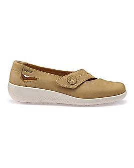 Hotter Bliss Wide Fit Touch Close Shoe