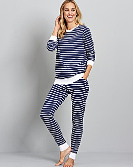Pretty Secrets Stripe Loungewear Set