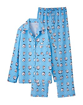 Pretty Secrets Flannel Pyjama Set