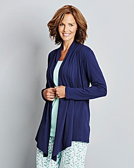Pretty Secrets Waterfall Jersey Jacket