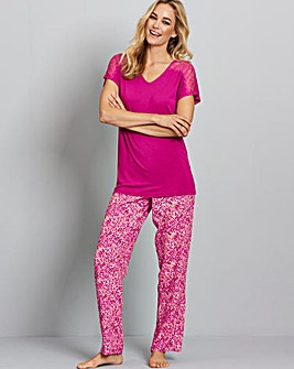 Pretty Secrets Animal Print Pyjama Set