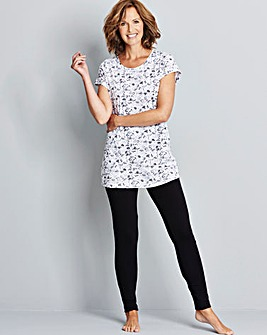 Pretty Secrets Legging Pyjama Set