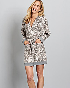 Pretty Secrets Ribbed Fleece Gown