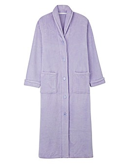 Pretty Secrets Button Fleece Gown 48
