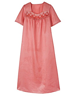 Pretty Secrets Satin Nightdress 44""