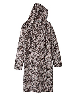 Pretty Secrets Fleece Hooded Nightie