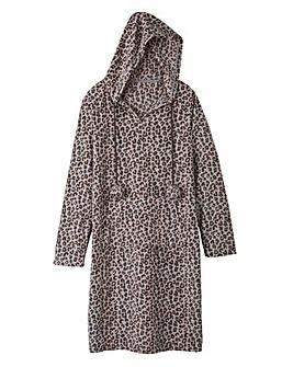 Pretty Secrets Fleece Hooded Nightie