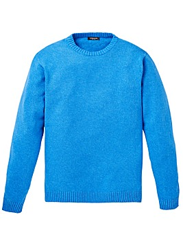 Capsule Blue Crew Neck Cotton Jumper R