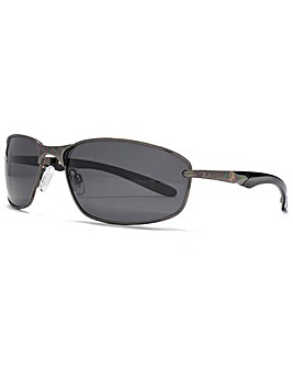 Freedom Polarised Oval Wrap Sunglasses