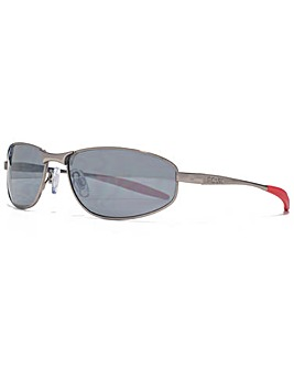 FCUK Slim Metal Wrap Sunglasses