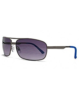 FCUK Square Wrap Aviator Sunglasses