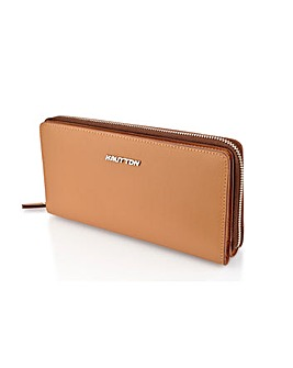 Hautton Leather Clutch Bag