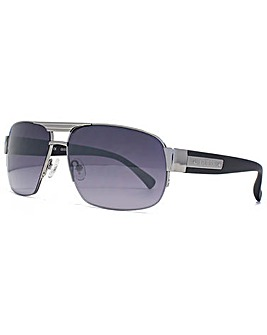 Guess Half Rim Square Sunglasses