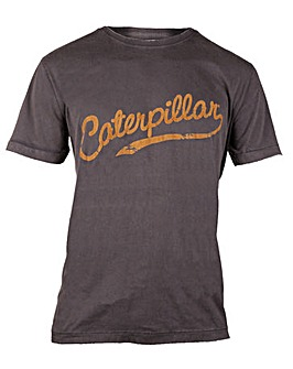 Caterpillar Heritage Script T-Shirt