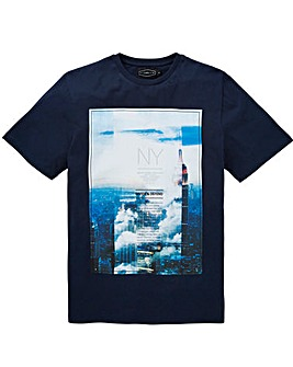 Label J City Print Tee Long