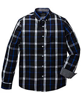 Label J Long Sleeve Cotton Check Shirt