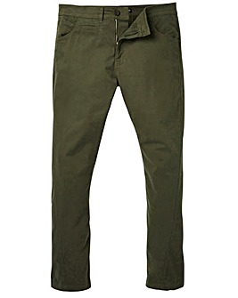 Label J Stretch Twist Tapered Chino 33In