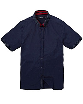 Black Label Spot Trim Shirt Long