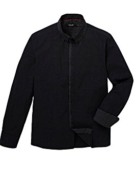 Black Label Spot Trim Shirt Regular