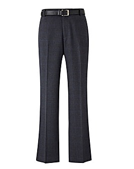 Black Label Check Belted Trouser 31 inch