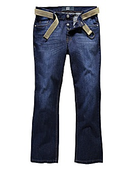 UNION BLUES Quebec Bootcut Jeans 33 Inch