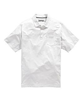 Jacamo Austin Jersey Polo Shirt Long