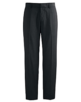 Jacamo Black Bootcut Trouser 31In