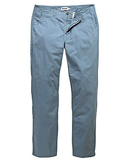 Jacamo Dusky Blue Tapered Chino 31in