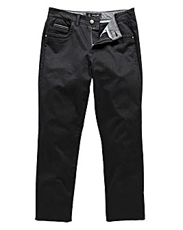 Black Label Audley Twill Jeans 33in
