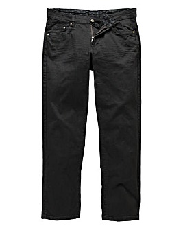 UNION BLUES Black Gaberdine Jeans 33in