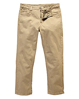 UNION BLUES Stone Gaberdine Jeans 27in