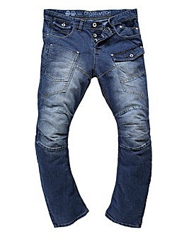 Crosshatch Falcoz Jean 33in Leg