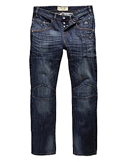 Crosshatch Dango Jean 33in Leg